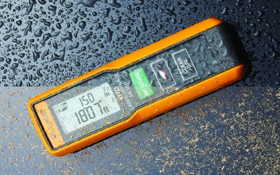 Point  and shoot  laser distance meter