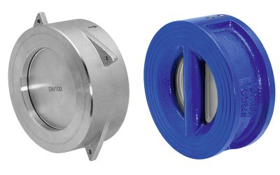 Check valves for high and low temperatures