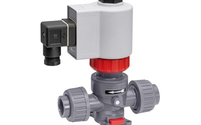 Directly Controlled Process Solenoid Valve