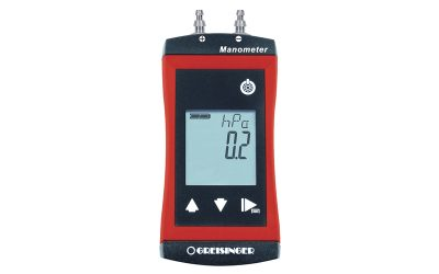 Handheld Manometers with Higher Precision and Accuracy