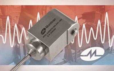 Dual Output Sensor Monitors Vibration and Temperature Levels