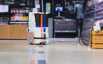 Robot Streamlines Food Deliveries in a Pilot Trial