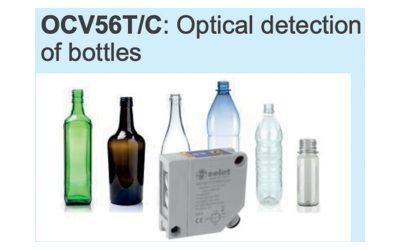 Compact Reflex Photoelectric Sensor for Glass Bottle Detection