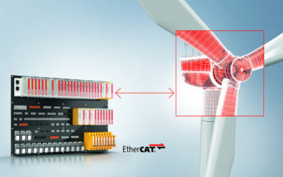 EtherCAT Plug-In Modules Minimize Space Requirements And Wiring Effort In Wind Turbines